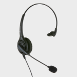 JPL 501PM Monaural Head-band Black headset