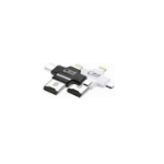 Microconnect MC-CARDREADER card reader Internal Black,White Micro-USB/Lightning