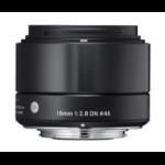 Sigma 19mm F2.8 DN MILC Wide lens Black