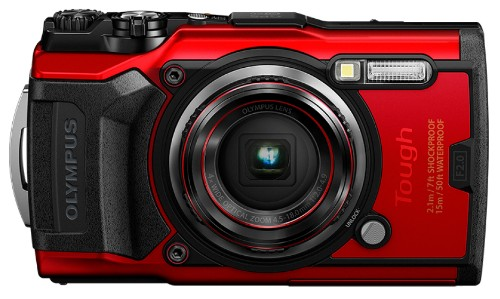 "Olympus Tough TG-6 Compact camera 12 MP CMOS 4000 x 3000 pixels 1/2.33"" Red"