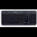 Logitech K360 teclado RF inalámbrico QWERTZ Checa Negro
