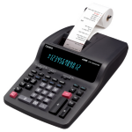 Casio FR2650TM Desktop Printing calculator Black Calculator