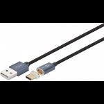 Microconnect USB3.1CA1MB 1.2m USB A USB C Male Male Black USB cable