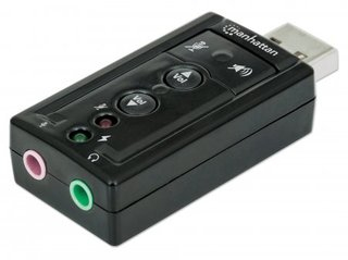 Manhattan 151429 audio card Internal 7.1 channels USB