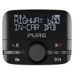 Pure Highway 600 Car Analog & digital Black