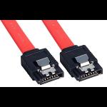 Lindy 0.7m SATA cable Black