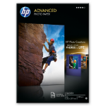 HP Q5456A photo paper Black, Blue, White Gloss A4