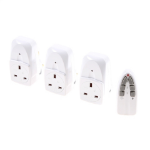 SMJ RFE3TC White smart plug