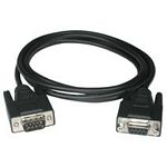 C2G 1m DB9 M/F Cable serial cable Black