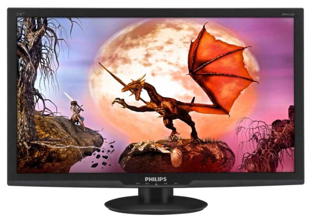 Philips LCD monitor, LED backlight