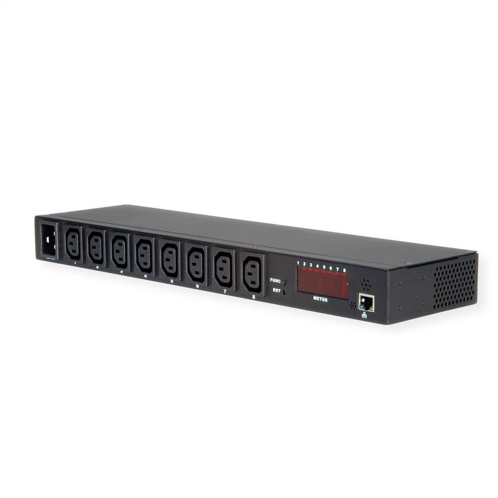 Value 19.99.3420 power distribution unit (PDU) 1U Black 8 AC outlet(s)