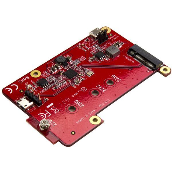 StarTech.com USB to M.2 SATA Converter for Raspberry Pi and Development Boards