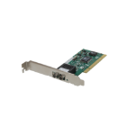 LevelOne Fast Ethernet Fiber PCI Network Card, Multi-Mode, ST