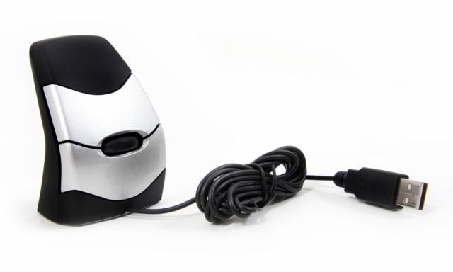 Hypertec DXT02 USB Laser 2000DPI Ambidextrous Black, Grey mice