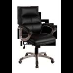 Eliza Tinsley Greenwich Pu Managers Chair Black DD