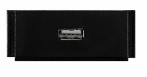AMX HPX-N100-USB Black outlet box