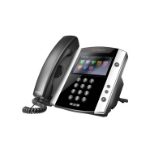 Polycom VVX 600 Wired handset 16lines LCD Black,Silver IP phone
