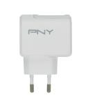 PNY P-AC-TC-WEU01-RB oplader voor mobiele apparatuur Binnen Wit