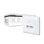 Digitus Modular Wall Outlet CAT6 wire connector