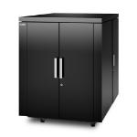 APC AR4018IX429 rack cabinet 18U Freestanding rack Black