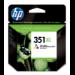 HP 351XL Original Cian, Magenta, Amarillo 1 pieza(s)