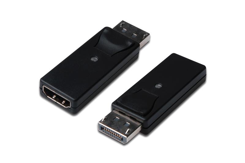 Digitus DisplayPort - HDMI DisplayPort 1.1a HDMI type A Negro
