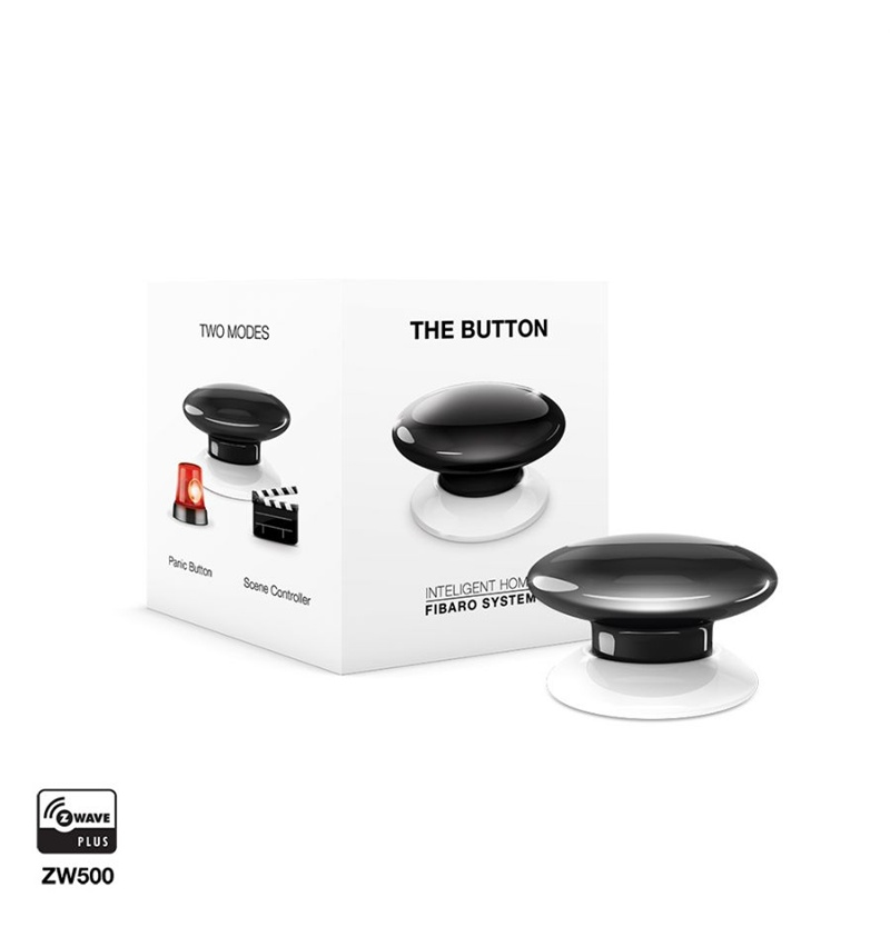 Fibaro The Button panic button Wireless Alarm