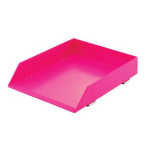 Rexel JOY Letter Tray Pretty Pink