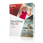 Corel PaintShop Pro X9 ML Mini-Box