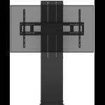 "Vision VFM-F40/6X4 flat panel floorstand 190.5 cm (75"") Fixed flat panel floor stand Black"