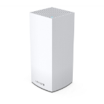 Linksys Velop Whole Home Intelligent Mesh WiFi 6 (AX4200) System, Tri-Band, 1-pack wireless router Gigabit Ethernet Tri-band (2.4 GHz / 5 GHz / 5 GHz) White MX4200-UK