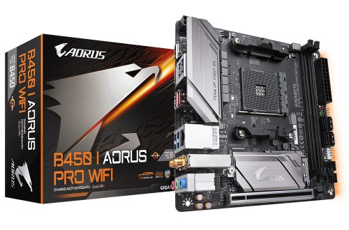 Gigabyte B450 I AORUS PRO WIFI motherboard Socket AM4 Mini ATX AMD B450
