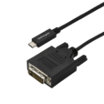 StarTech.com 9.8 ft. (3m) USB-C to DVI Cable - 1920 x 1200 - Black