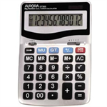 Aurora DT303 Desktop Basic Silver calculator