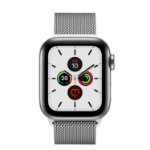 Apple Watch Series 5 reloj inteligente OLED Acero inoxidable 4G GPS (satélite)
