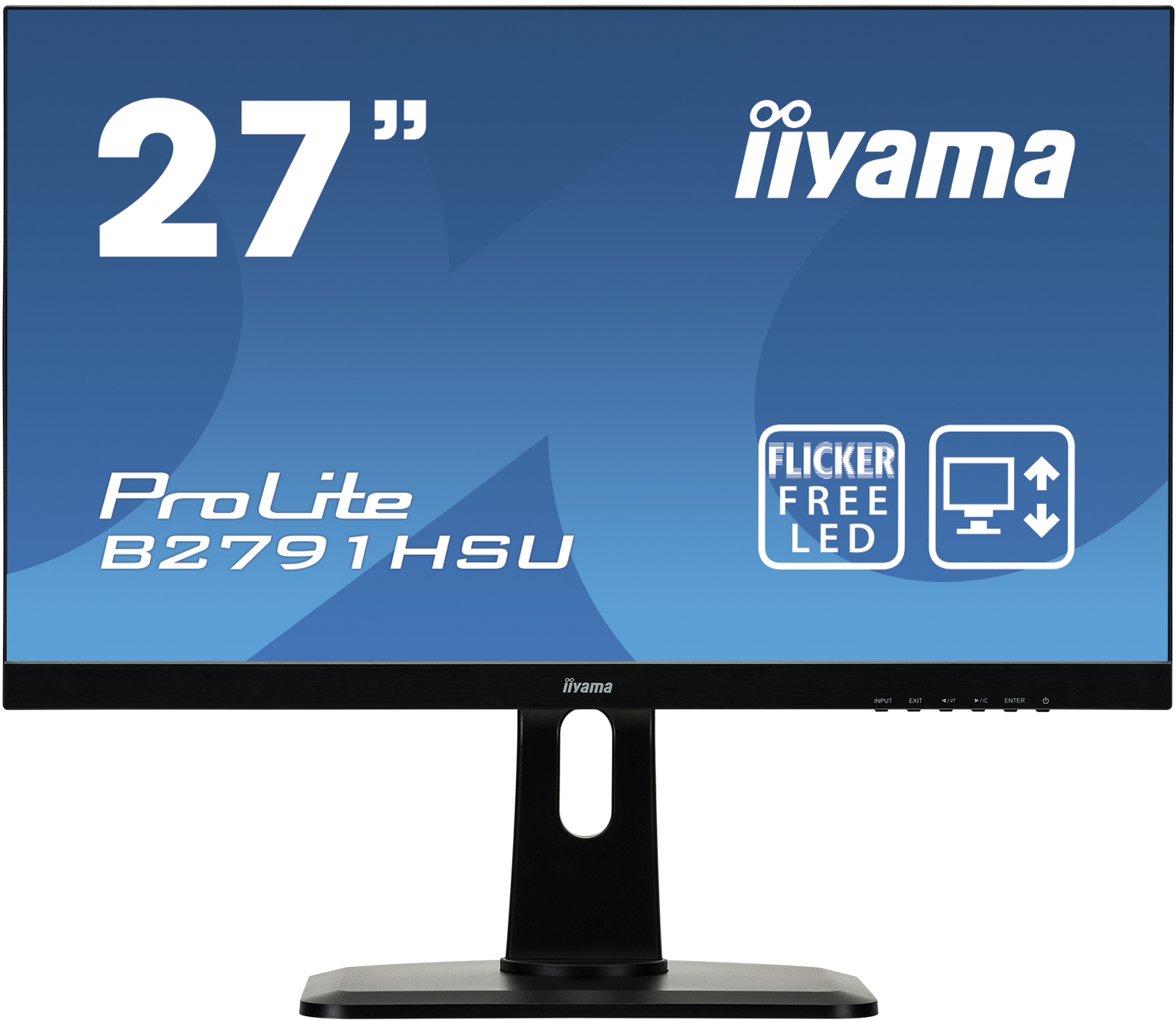iiyama ProLite B2791HSU-B1 LED display 68.6 cm (27