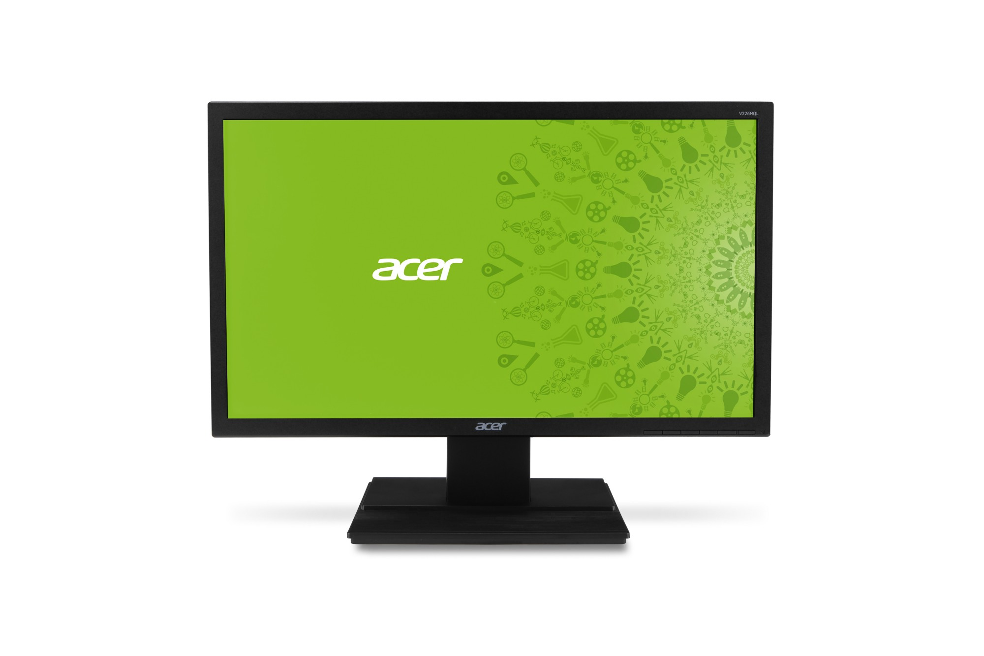 "Acer V6 V226HQL 21.5"" Full HD Black computer monitor"