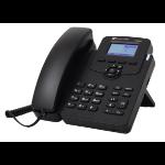 AudioCodes 405HD IP phone Black 2 lines LCD