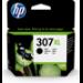 HP Cartucho de tinta Original 307XL de capacidad superior negro