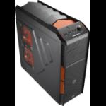 Aerocool XPredator X1 Midi-Tower Black,Orange computer case
