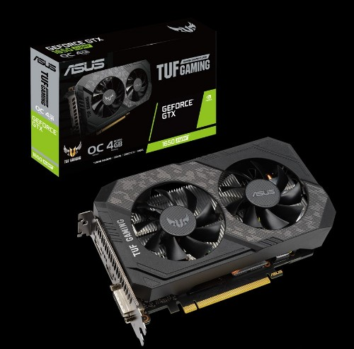 ASUS TUF-GTX1650S-O4G-GAMING GeForce GTX 1650 SUPER 4 GB GDDR6