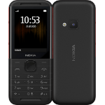 "Nokia 5310 6.1 cm (2.4"") 88.2 g Black, Red Entry-level phone"