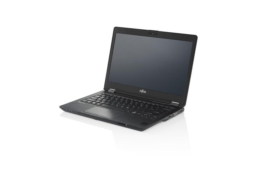 """Fujitsu LIFEBOOK U727 2.50GHz i5-7200U 12.5"""" 1920 x 1080pixels Touchscreen Black Notebook"""