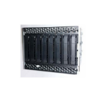 """Intel AUP8X25S3NVDK drive bay panel 2.5"""" Carrier panel Black, Stainless steel"""