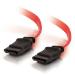 C2G 0.5m 7-pin SATA Cable cable de SATA 0,5 m SATA 7-pin Rojo