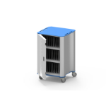 NUWCO PlasCart Portable device management cart Blue, Gray