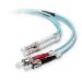 Belkin Fiber Optic Duplex Patch Cable - 32.81ft 2 x LC/ 2 x ST