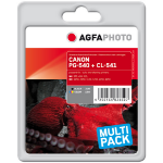 AgfaPhoto APCPG540_CL541XLSET ink cartridge Black,Cyan,Magenta,Yellow