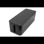 Digitus DA-90502 cable organizer Cable box Desk Black 1 pc(s)