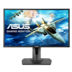 "ASUS MG248QR 24"" Full HD LED Matt Black computer monitor"
